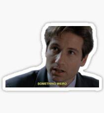 Fox Mulder Quotes Sticker