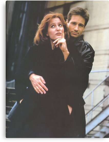 Scully and Mulder / X-Files by jodilovesbucky