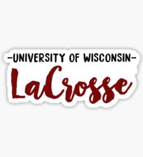 University of Wisconsin LaCrosse Sticker