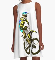 Motocross A-Line Dress