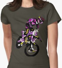 Motocross Womens Fitted T-Shirt