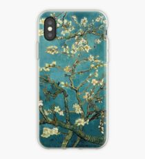 Blossoming Almond Tree, famous post  impressionism fine art oil painting by Vincent van Gogh.  iPhone Case