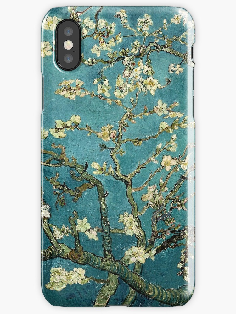 Blossoming Almond Tree Famous Post Impressionism Fine Art Oil Painting By Vincent Van Gogh