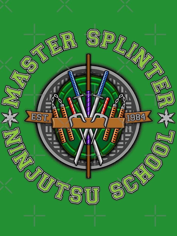 Master Splinter's Ninjutsu School by DrRoger