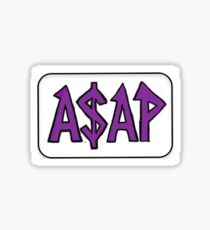 ASAP Sticker