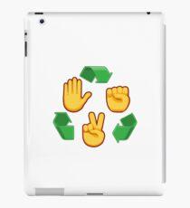 Emoji Rock Paper Scissors iPad Case/Skin