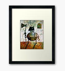 The executioner Framed Print