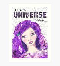 The universe within Kunstdruck