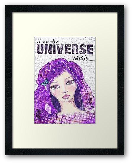 The universe within von Stefanie Marquetant