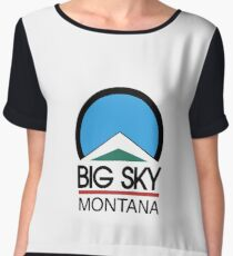 big sky montana Chiffon Top