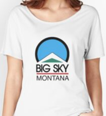 big sky montana Women's Relaxed Fit T-Shirt