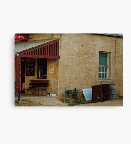 Hotel,Outback Tibooburra,N.S.W. Canvas Print