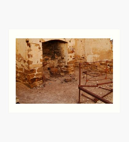 Bedroom, North Peake,Outback South Australia Art Print