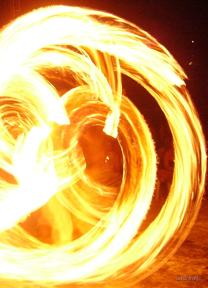 Fire dancing by andrealjc