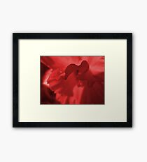 If Yellow was Red Framed Print