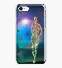 Escaping The  Matrix iPhone Case/Skin