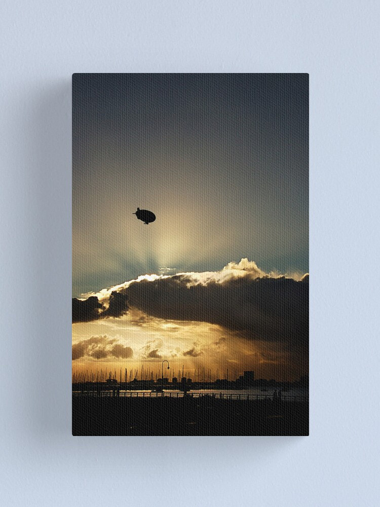Alternate view of Free as ... Canvas Print