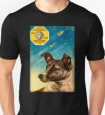 Laika the Sputnik 2 Russian Space Dog! T-Shirt