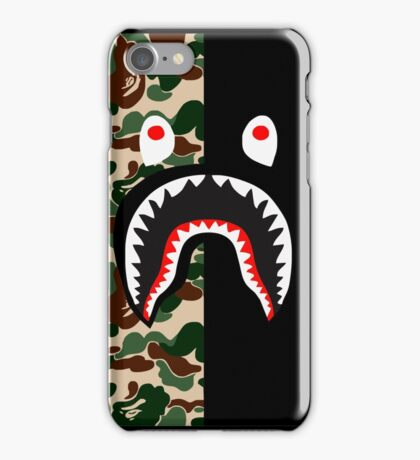 Bape Shark Pattern iPhone Case/Skin
