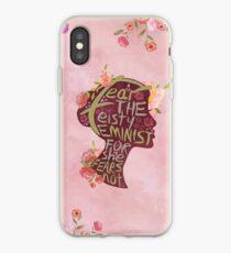 Feisty Feminist iPhone Case