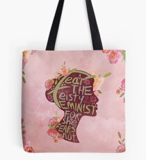 Feisty Feminist Tote Bag