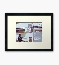 Assistance Framed Print