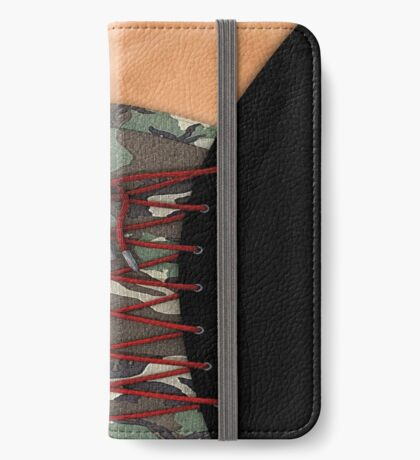 Camouflage corsage iPhone Wallet