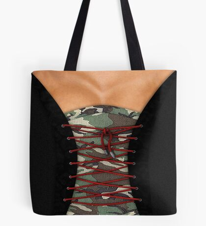 Camouflage corsage Tote Bag