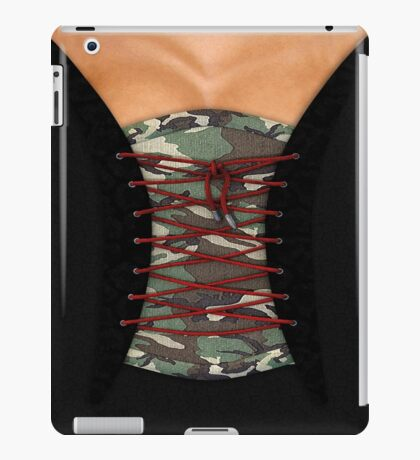 Camouflage corsage iPad Case/Skin