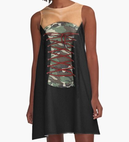 Camouflage corsage A-Line Dress