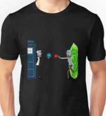 Doctor Who Ricktions In Time And Space T-Shirt