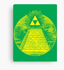 Hyrulian Seal Canvas Print