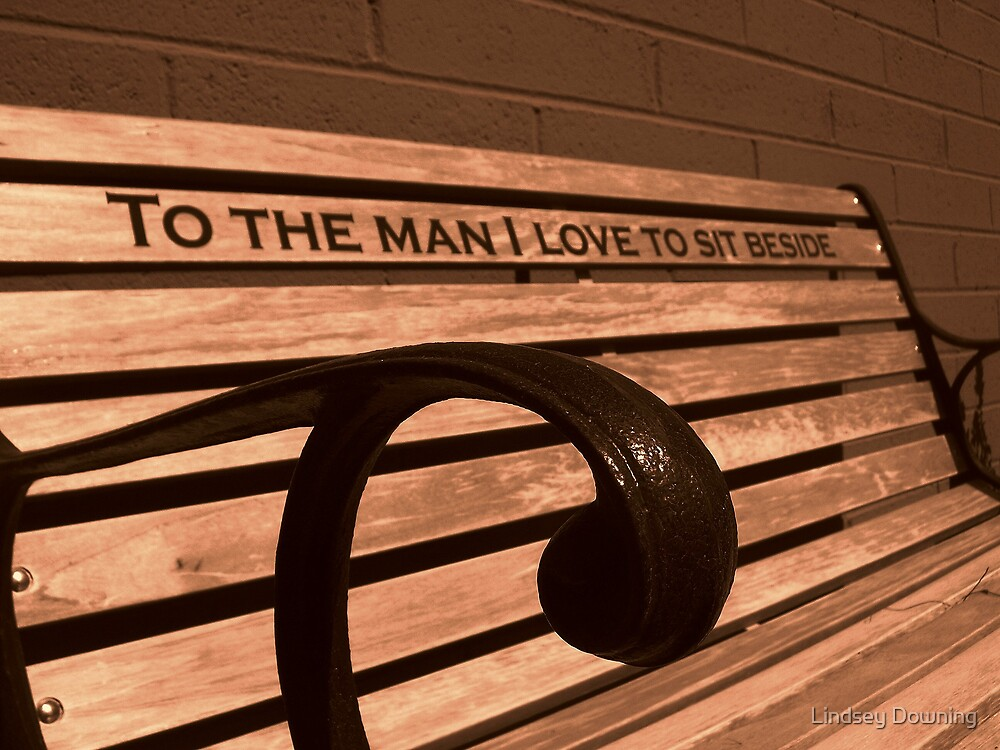 bench of love by Lindsey Downing