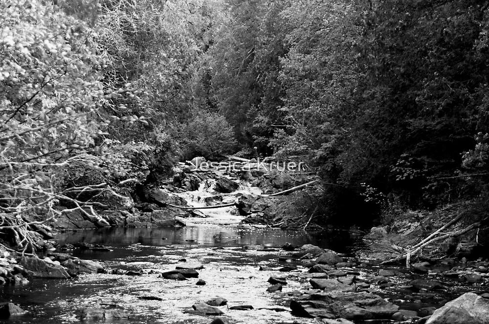 Rock Waterfall 2 by Jessica Kruer