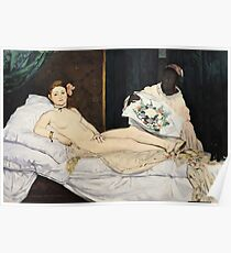 Edouard Manet - Olympia Poster