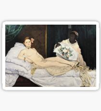 Edouard Manet - Olympia Sticker