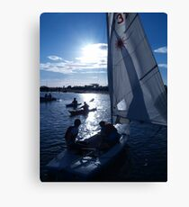 West Kirby Boating Lake Canvas Print