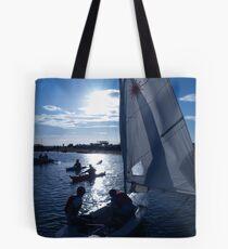 West Kirby Boating Lake Tote Bag