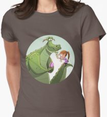 Dragon plait Womens Fitted T-Shirt