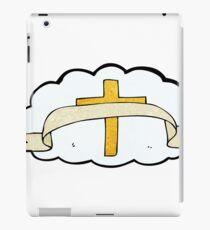 cartoon religious cross symbol iPad Case/Skin