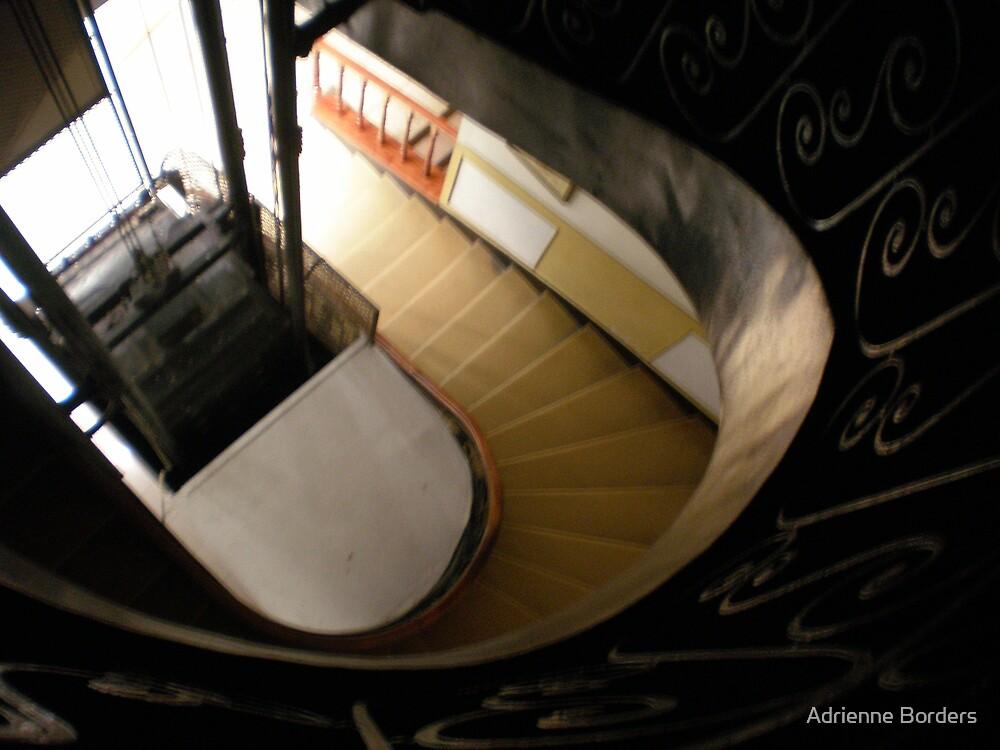 Stairwell by Adrienne Borders