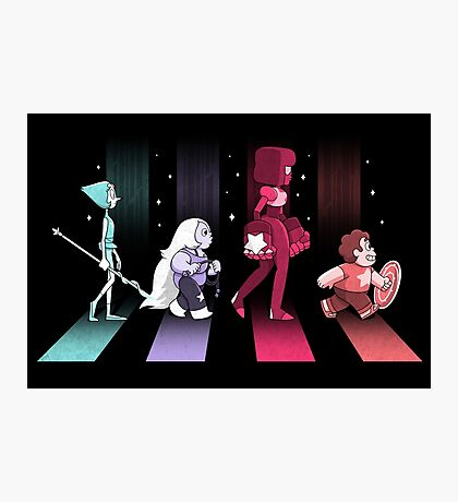 Crystal Gem Road Photographic Print