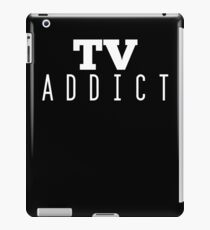 TV Addict - Television iPad Case/Skin