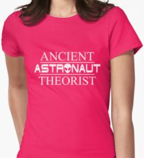 Ancient Astronaut Theorist (Version 2) Womens Fitted T-Shirt