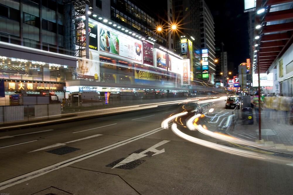 Hong Kong at Night by Chris Putnam