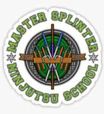 Master Splinter's Ninjutsu School Sticker