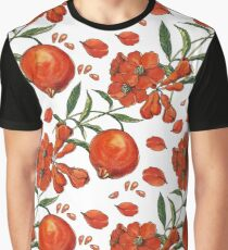 Beautiful pattern of tropical pomegranate Graphic T-Shirt