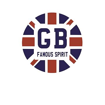 Famous British Spirit - Union Jack Flag T-Shirt by Sparks68