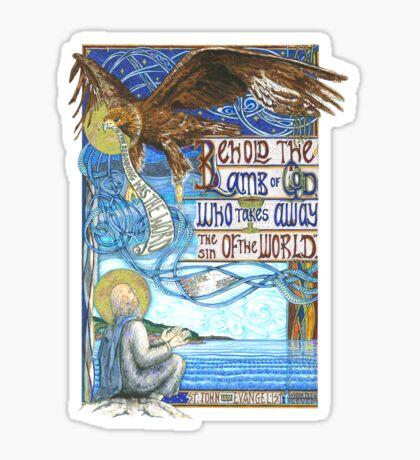St. John the Evangelist Sticker