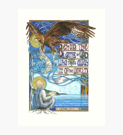 St. John the Evangelist Art Print